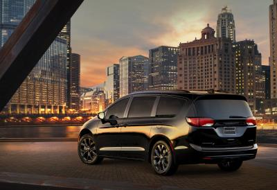 Pacifica Named 'Family Car Of Texas,' 'Green Car Of Texas' And 'Minivan Of Texas' By Texas Auto Writers Association
