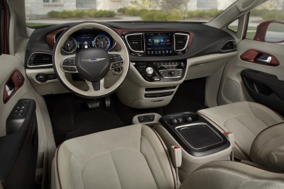 All New 2017 Chrysler Pacifica Named To Wards 10 Best Interiors List For 2016