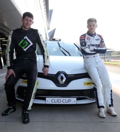 DOUBLE SIGNING FOR CICELEY MOTORSPORT AS LUKE READE & SAM OSBORNE JOIN FOR 2017 RENAULT UK CLIO CUP