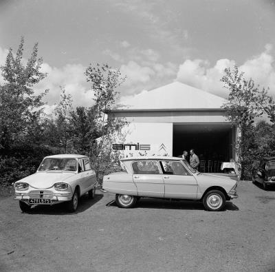 Citroën celebrates the 60th anniversary of AMI 6