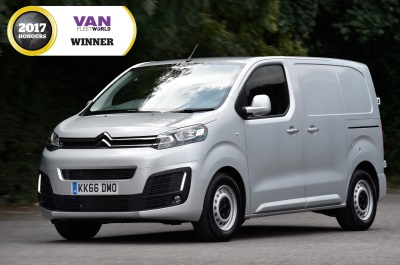 d767fc2144 New Citroën Dispatch Wins Best Medium Van In The 2017 Van Fleet World  Honours