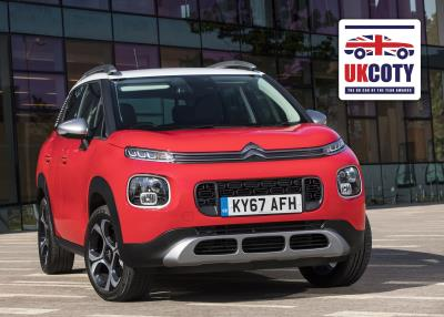 new citro n c3 aircross named 39 best small crossover 39 in uk car of the year awards 2018. Black Bedroom Furniture Sets. Home Design Ideas