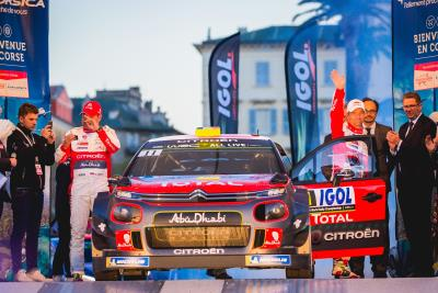 Citroen C3 WRCs Competitive In Corsica But Short On Luck