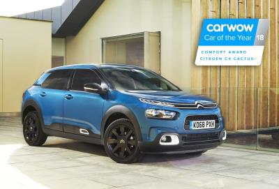 New Citroën C4 Cactus Wins 'Comfort Award' At The Very First Carwow Car Of The Year Awards