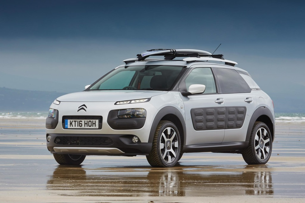 Citroën Rides The Waves With New Tv Advert For C4 Cactus Rip Curl Special Edition Conceptcarz Com