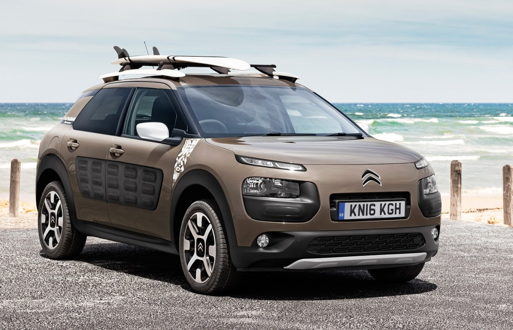Citroën C4 Cactus Rip Curl Special Edition Goes On Sale In The Uk Conceptcarz Com