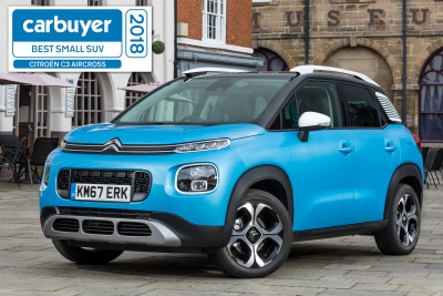 Double Win For Citroën At The Carbuyer Best Cars Awards 2018
