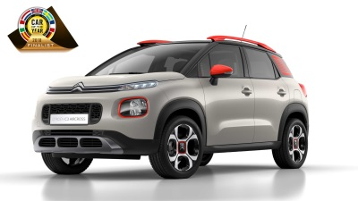 New Citroën C3 Aircross Compact SUV A Finalist For Car Of The Year 2018