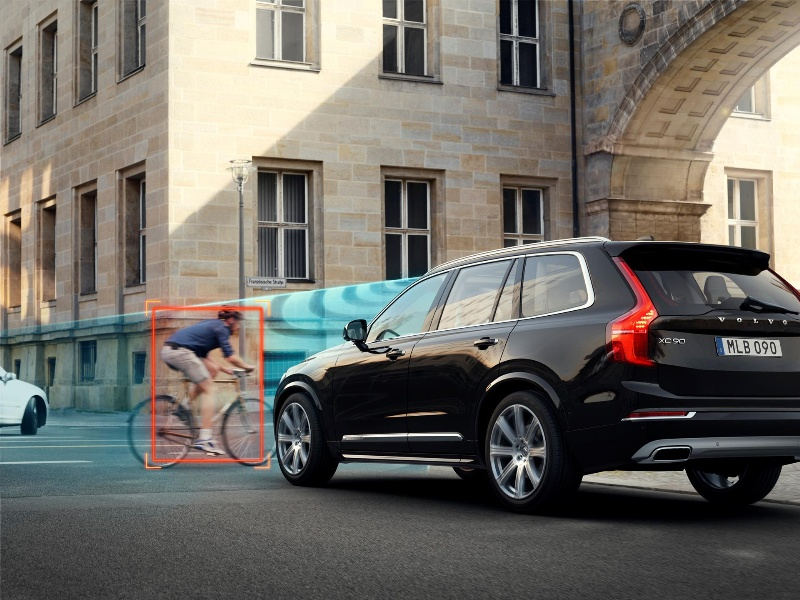 CITY SAFETY BY VOLVO CARS – OUTSTANDING CRASH PREVENTION THAT IS STANDARD IN THE ALL-NEW XC90
