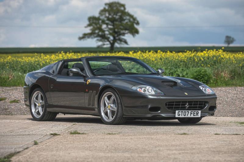 Confirmed for The Classic Sale at Silverstone; a 2007 Ferrari 575 Superamerica F1 - Classiche