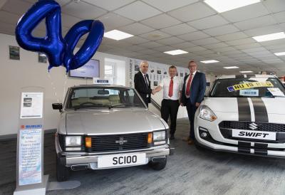 Suzuki Car Dealership >> Colin Appleyard Celebrates 40 Years Since Opening Its First