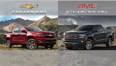 COLORADO AND CANYON WILL LEAD MIDSIZE PICKUP SEGMENT IN FOUR-CYLINDER FUEL ECONOMY AND PAYLOAD