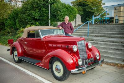 Classic American Car Goes Back To The Factory Where It Was Built – In Brentford West London