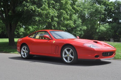 Pre-Production Ferrari 575MM Goes Under The Hammer At Coys Auction At Fontwell House