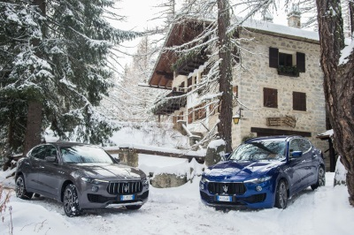 Maserati Winter Tour Kicks Off: The Exclusive Tour Visits The Most Sophisticated European Winter Resorts