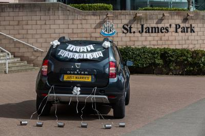 'Try The Knot': Win A Right Royal Knees Up, And Celebrate Your Love At Dacia Magic Weekend