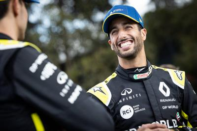 Daniel Ricciardo Opens Up To Renault UK's Mental Health Champions On The Importance Of Good Mental Health