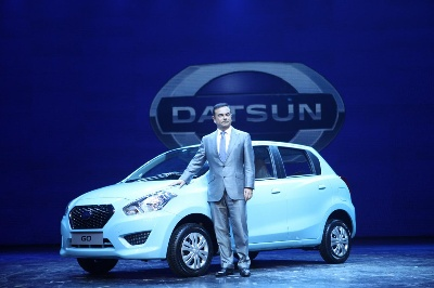CEO GHOSN: DATSUN ON THE RISE