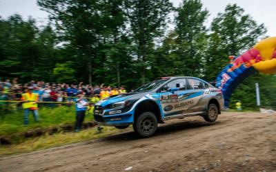 David Higgins Dominates The Ojibwe Forests Rally For Fourth Win Of 2018