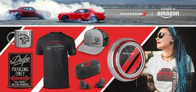 Dodge Adds Amazon Storefront Providing a One-stop Shop for Brand Enthusiasts