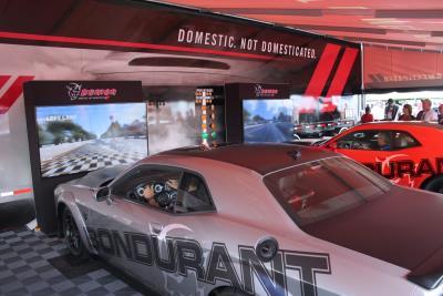 Dodge Invites Enthusiasts To Test Their Skills On Dodge Challenger SRT Demon Simulators