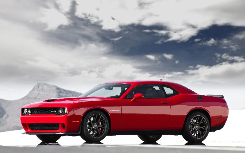 2015 DODGE CHALLENGER SRT HELLCAT: THE FASTEST MUSCLE CAR EVER WITH ...