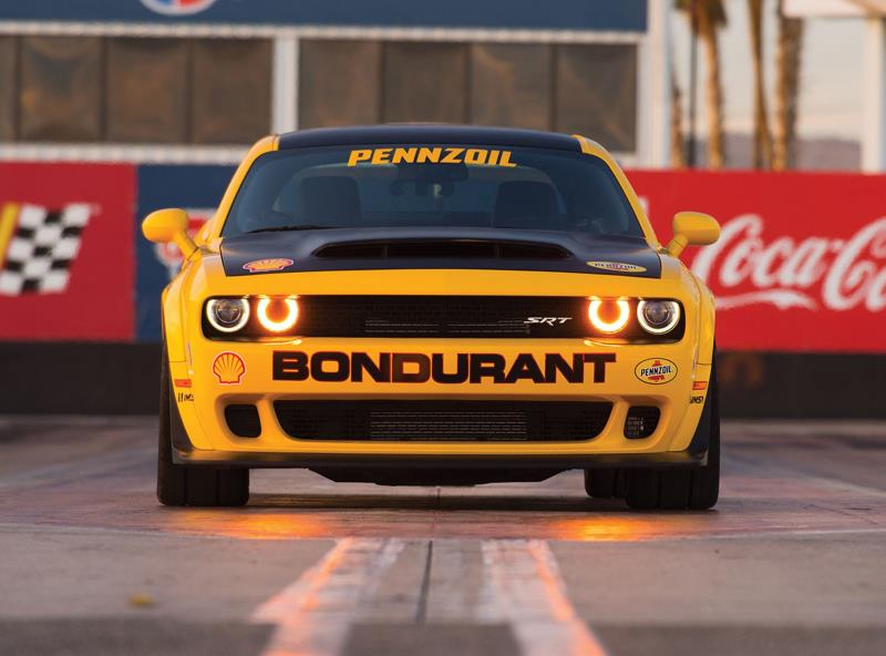 Dodge//Srt And The Bob Bondurant School Of High Performance Driving Add A New Drag Racing Course Featuring The Srt Demon