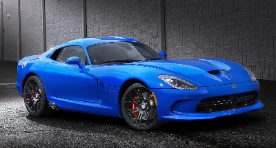 COMPETITION BLUE CHOSEN AS WINNER OF 'SRT VIPER COLOR CONTEST'