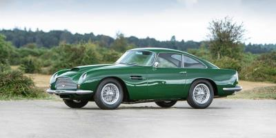 Donald Campbell's DB4 GT Speeds into Bonhams Goodwood Revival Sale