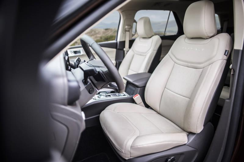 'Dr. Derriere' Cures Road Trip Butt Blues With Comfortable, Stylish Front Seats In All-New Ford Explorer