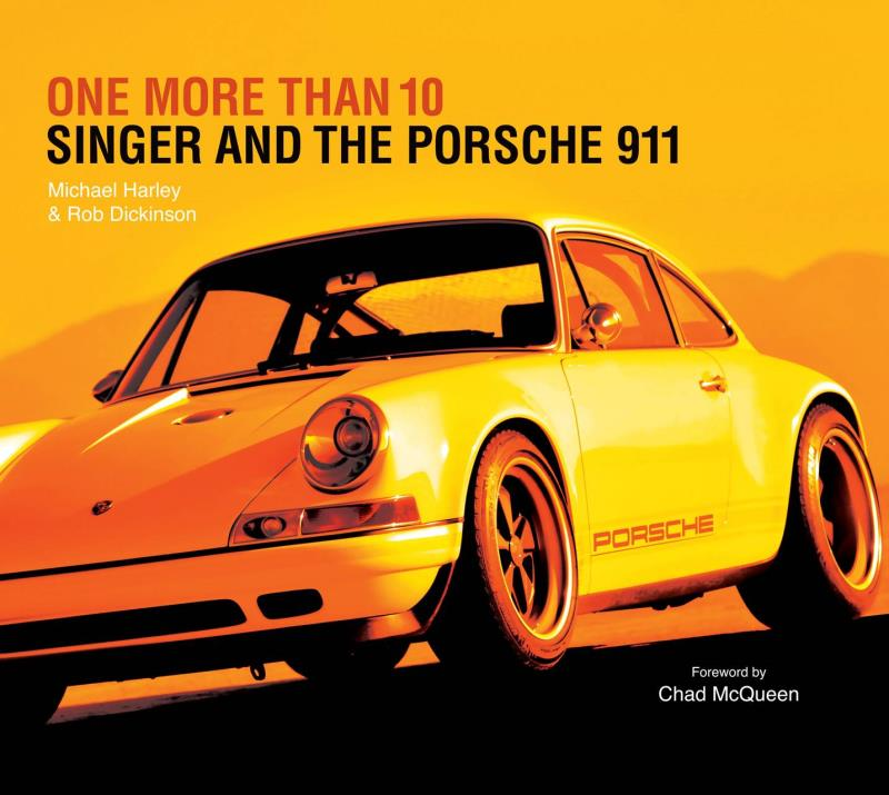Singer Vehicle Design Supports Drive Toward A Cure With Contribution Of Autographed 'One More Than 10 – Singer And The Porsche 911' Book