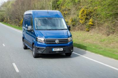 Don't Just See It… Drive It: Volkswagen Crafter Driving Experience Available To CV Show Visitors