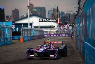 DS Virgin Racing Cap Off Best Ever Formula E Season In New York