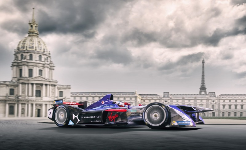 DS Virgin Racing Prepare To Electrify Paris