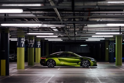 DS Virgin Racing Driver, Sam Bird, Takes DS E-Tense For A Spin Inside The Westfield London Shopping Centre