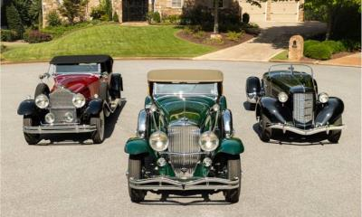 Duesenberg Model J Roadster Leads Diverse Roster Of Classics Across The Block At RM Sotheby's 15Th Annual Hershey Sale