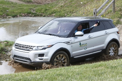 PHILLIP DUTTON AWARDED A 2014 RANGE ROVER EVOQUE LEASE AS THE WINNER OF THE 'LAND ROVER BEST RIDE OF THE DAY'