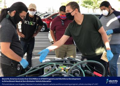Electrify America Invests Over $1.6 Million in STEM Programs and Workforce Development to Drive Brand-Neutral Zero Emission Vehicle Education