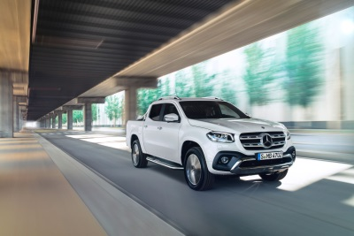 Top Marks In Euro NCAP Test: Mercedes-Benz X-Class Awarded Five Stars For Safety