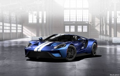 Evernham Family-Racing for a Reason Foundation to Auction a 2017 Ford GT