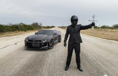 The Hennessey Exorcist Tested To 217 MPH