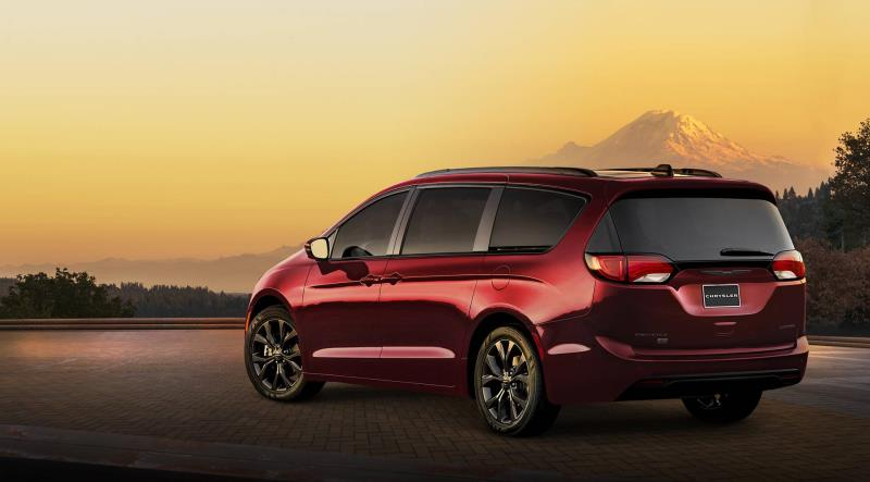 Fca Us Llc Announces Pricing On Chrysler Pacifica Hybrid Dodge Grand Caravan 35th