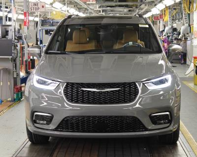 FCA's Windsor Assembly Plant Kicks Off Production Of 2021 Chrysler Pacifica