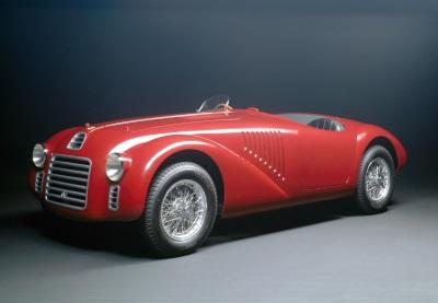 Ferrari's Anniversary Celebrations Get Underway With Re-Enactment Of 125 S Driving Through The Maranello Gates