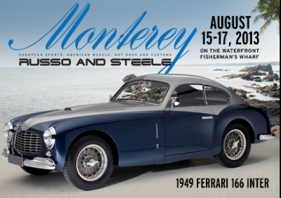 Extremely Rare 166 Inter Berlinetta, Ferrari's First Road Model, to Headline Russo and Steele's Highly Anticipated Monterey Auction Event