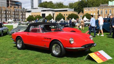 Ferrari 330 GTS Named Best In Show At London Concours 2020
