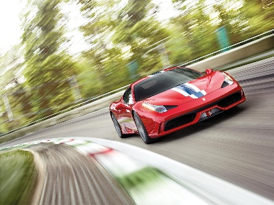 Everyone in the UK goes crazy about the 458 Speciale