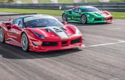 Ferrari Challenge UK Series Confirmed For 2019 - Ferrari 488 Challenge To Race On Four UK Circuits