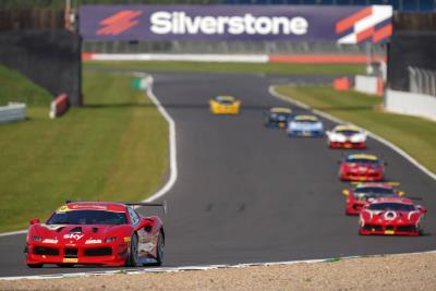 Ferrari Challenge UK 2020 Races At The Home Of British Motor Racing