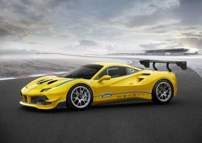 Proposed Ferrari Challenge UK Race Series For 2019 Ferrari 488 Challenge To Race On UK Circuits